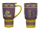 LSU Tigers Sculpted Ceramic Travel Cup- 15 oz.