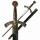 """Medieval """"Sword of the Crusades"""" Sword [NFS]"""