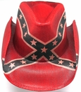 Rebel Cowboy Hat- Fantastic Closeout Deal!
