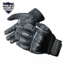 Police Force Hard Knuckle Tactical Gloves- Large