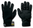 Rapid Dominance Black Kevlar Patrol Gloves