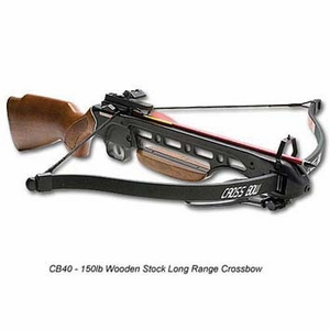 Rifle Crossbow / 150 lb. / Wooden Stock  [NFS]