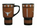 Texas Longhorns Sculpted Ceramic Travel Cup- 15 oz.