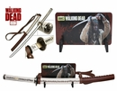 Walking Dead Officially Licensed Michonne Samurai Katana with Leather-Wrapped Handle, Wood Scabbard, and Wall Mount [NFS]