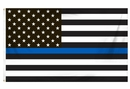 Thin Blue Line American Flag 3ft x 5ft
