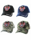 United States of America with Bald Eagle Velvro Cap- Assorted