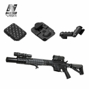 VISM KeyMod 1 Slot Covers - Black