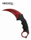 Wartech CS:GO Crimson Webb Karambit Knife