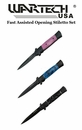 Wartech Fast Assisted Opening Stiletto Set- 3 Piece