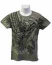 """Women's OD Green """"In Arms We Trust"""" T-shirt"""
