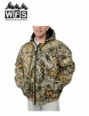 World Famous Sports Burly Tan Insulated Hooded Camo Jacket
