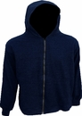 World Famous Sports Insulated Navy Hooded Sweatshirt