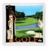 Peggy Karr Glass Handmade Fused Glass - Golf 2014 Design