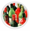 Peggy Karr Glass Handmade Fused Glass Vintage Wine Design