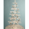 Bethany Lowe 36 inch White Feather Tree on Wood Base