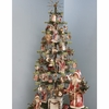 Bethany Lowe 48 Inch Goose Feather Christmas Tree in Block Base