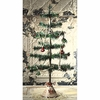 Bethany Lowe Christmas Feather Tree in Nostalgic Tin Base