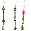 Bethany Lowe Dangle Bead Ornaments set of 3