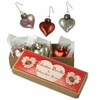 Bethany Lowe Glass Heart Ornaments