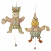 Bethany Lowe Greg Guedel Easter Jumping Jack Ornaments