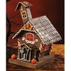 Bethany Lowe Halloween Gingerbread Haunted House Medium