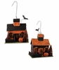 Bethany Lowe Haunted Putz Hallowen House Ornaments set of  2