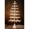 Bethany Lowe Ivory Tea Stained Feather Tree