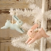 Bethany Lowe Leaping Bunny Ornaments