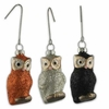 Bethany Lowe Owl Halloween Ornaments set of 3