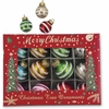 Bethany Lowe Retro Glitter Mercury Ball Ornament Set