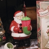 Bethany Lowe Santa Claus Bubble Light