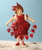 Bethany Lowe Valentine Girl with Hearts