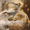 Bethany Lowe Vintage Glass Bird Clip Ornament