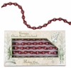Bethany Lowe Vintage Red Glass Bead Garland
