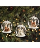 Bethany Lowe Woodland Globe Glass Ornament