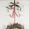 Candy Cane Christmas Wreath Holder