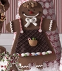 Christmas 9.5 inch Gingerbread Girl