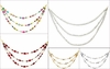 Christmas Beaded Drape Garland