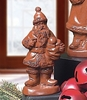 Christmas Chocolate Santa with Sack