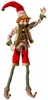 Christmas Elf Edwyrd 30 inches with Red Woodland Costume