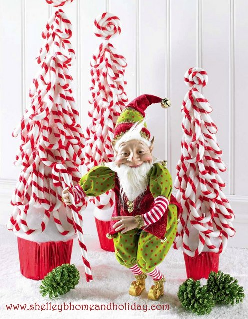 standing elf Christmas decoration
