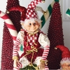 Christmas Jester Elf 23 Inches