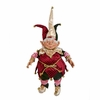 Christmas Jester Elf with pot belly 25 inches