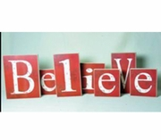 Christmas Large Believe Bricks