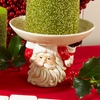 Christmas Large Santa Face Candle Holder