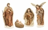 Christmas Nativity Set Holy Family with Angel