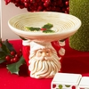 Christmas Small Santa Face Candle Holder