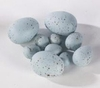 Easter Bag of 24 Small Blue Spotted Eggs