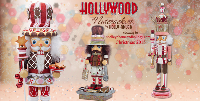 Hollywood nutcrackers by Holly Adler for Kurt S Adler