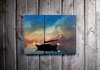 Lighted Canvas Wall Art A Light To Guide You Sail Boat
